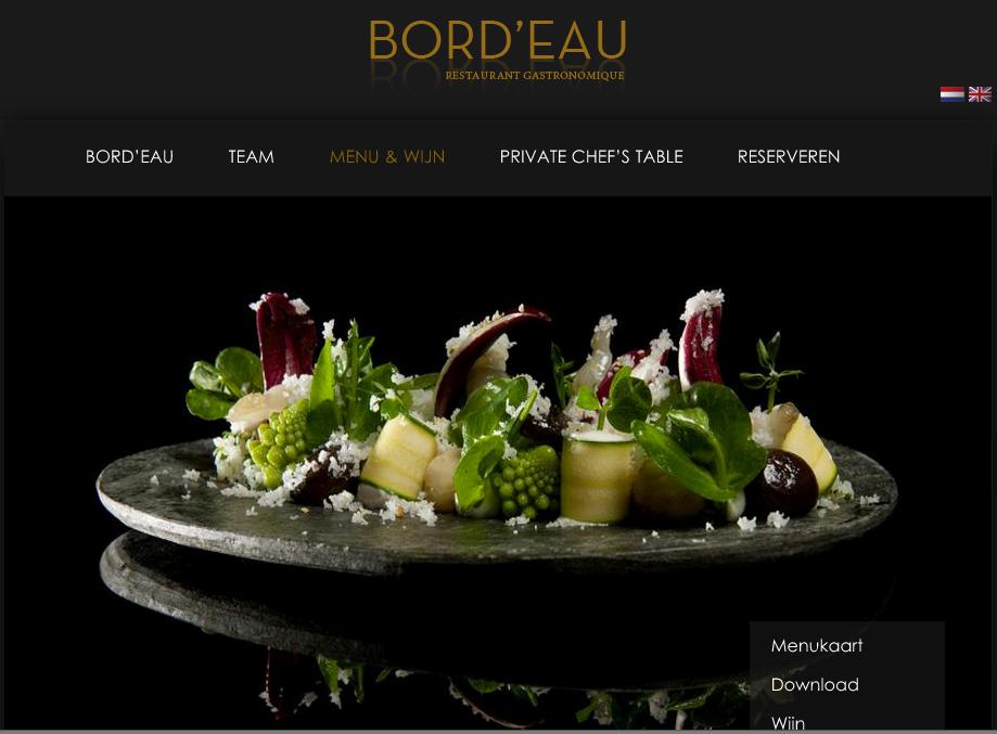 Restaurant Bord'Eau Amsterdam.