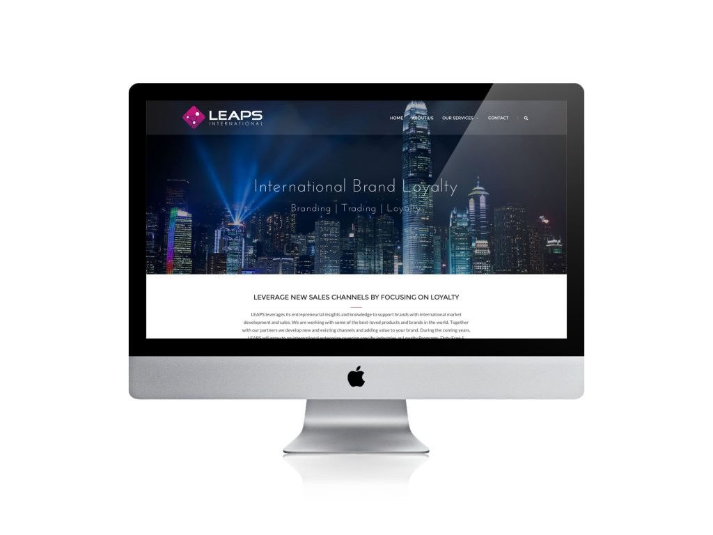 Qoorts realiseerde de nieuwe website van Leaps International Loyalty