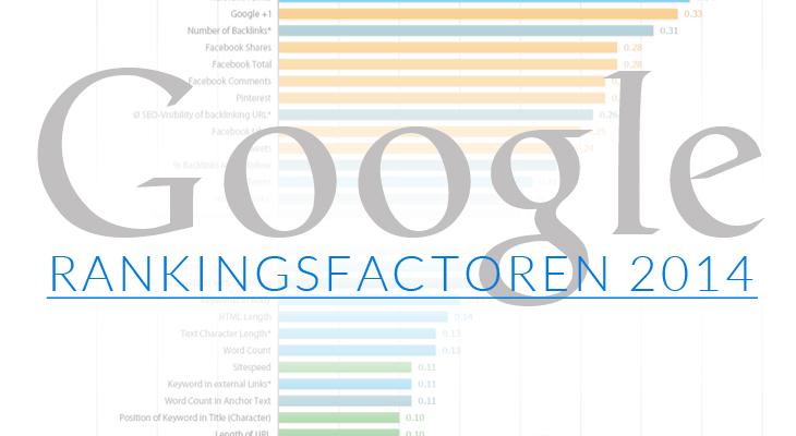google-rankingsfactoren-2014