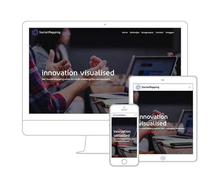 Webdesign Amsterdam - Qoorts ontwikkelde de nieuwe website voor SocialMapping Company