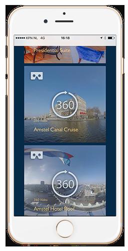 Qoorts ontwikkelde een VR experience voor InterContinental Amstel, ook wel het Amstel Hotel genoemd.
