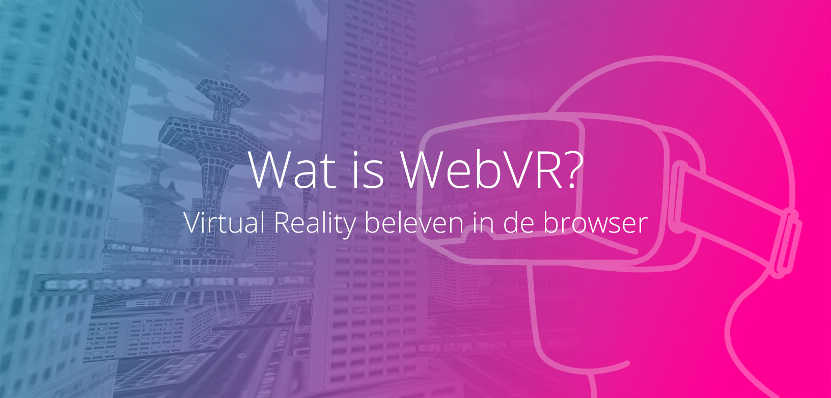 Virtual Reality via de browser.